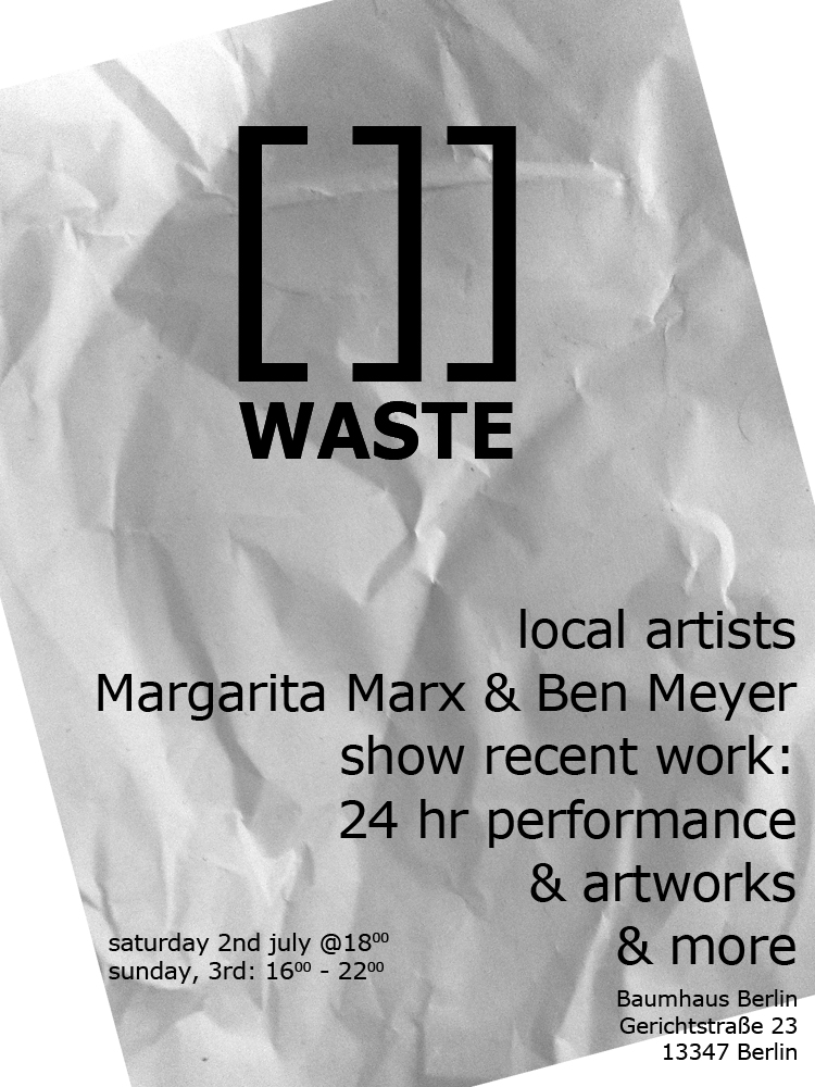 [:de]Zero Waste Pop up Kunstgalerie[:en]Zero Waste Pop up Art Gallery[:] @ Das Baumhaus | Berlin | Berlin | Germany