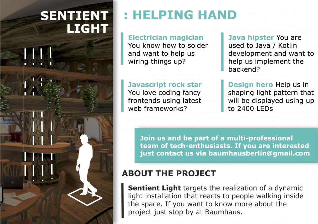 Sentient Light Helper Poster