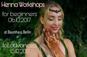 Henna Workshop by Linda Mey - Beginners and Advanced