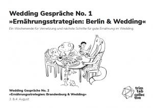 "Wedding Gespräch No.1 ""Ernährungsstrategien: Berlin & Wedding"""
