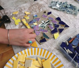 Upcycling Mosaik Workshop