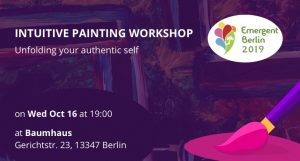 Intuitive Painting Workshop at Emergent Berlin Festival 2019
