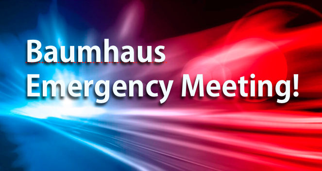 Baumhaus Emergency Meeting!